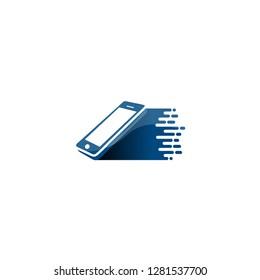 Fast Phone Logo for Shop or Repair