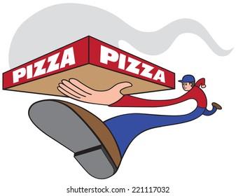 Fast pizza