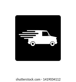 Fast Shipping Delivery Icon Vector Illustration - Vector