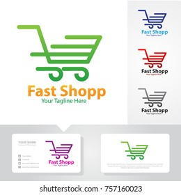 fast shop service logo