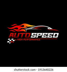 Fast and Speed logo template vector. Automotive Logo Vector Template