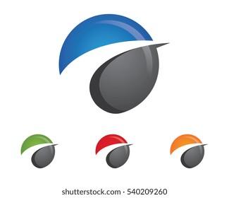 Faster Logo Template vector illustration