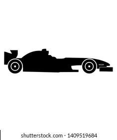 Fastest racecar vector F1 formula 1 car vector detail
