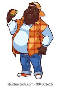 Black Man Cartoon Images Stock Photos Vectors Shutterstock
