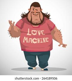 Fat Nerd, vector