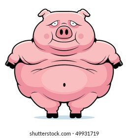 Cartoon Fat Pig High Res Stock Images Shutterstock