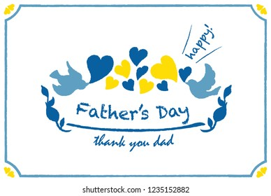 Thank You Letter to Dad Images, Stock Photos & Vectors