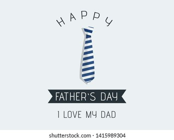 fathers day sale vector sale promotion poster or banner with open gift wrap paper concept promotion. illustration - Vector.
