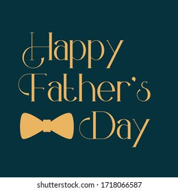 Father's day typography design OZELLA font