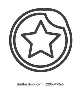 Favorite vector icon