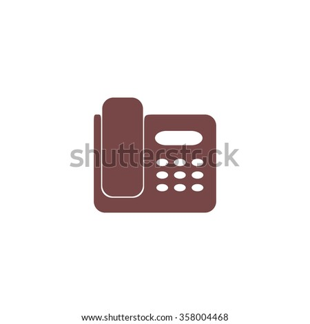 fax machine colorful vector icon simple stock vector royalty free