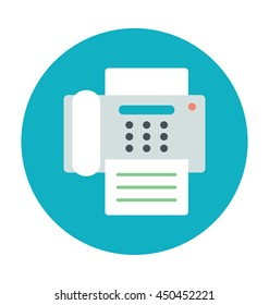 Fax Machine Vector Icon