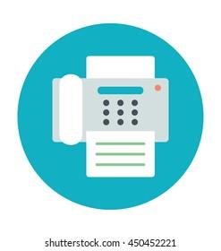 Fax Machine Vector Icon