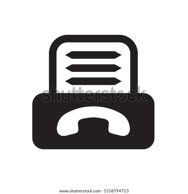 fax symbol icon logo vector stock vector royalty free 1558794713 https www shutterstock com image vector fax symbol icon logo vector 1558794713