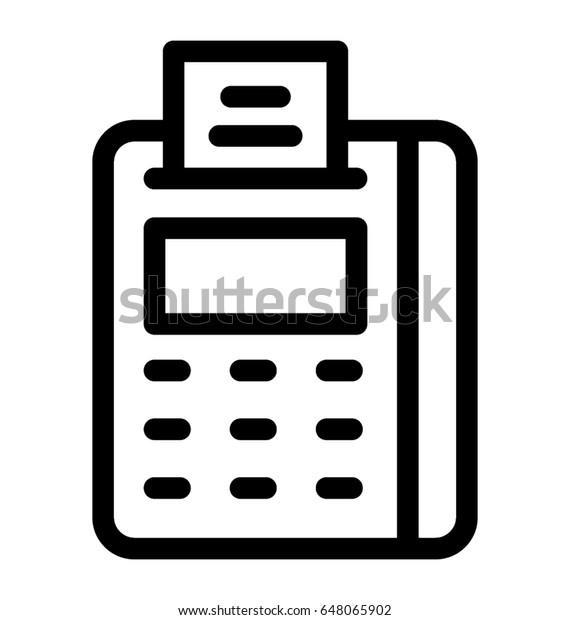 fax vector icon stock vector royalty free 648065902 shutterstock