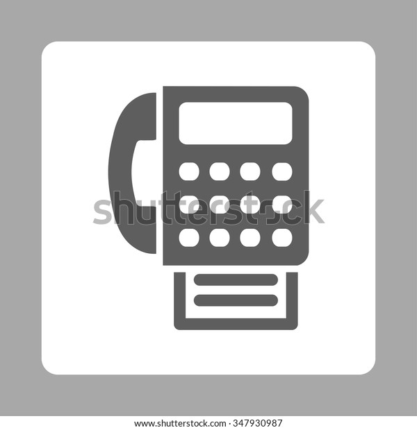 fax vector icon style flat rounded stock vector royalty free 347930987 shutterstock