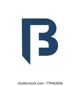 FB initial logo - BF initial logo