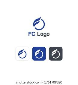 fc letter Creative logo vector (EPS 10)