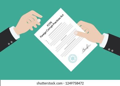 FCPA Foreign Corrupt Practices Act law regulation judge crime judicial enforcement conflict of interest agreement