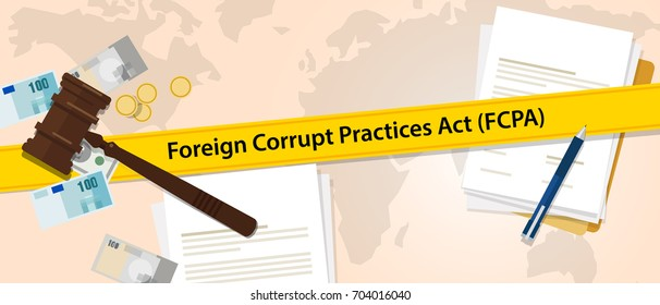 FCPA Foreign Corrupt Practices Act law regulation judge crime judicial enforcement conflict of interest agreement
