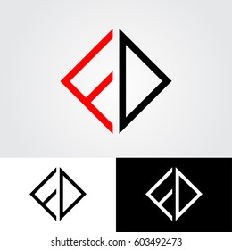 FD initial letters looping linked pointed