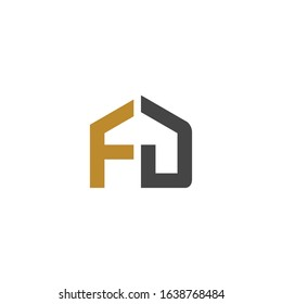 FD logo is a little explanation of the concept of the logo: a unique FD letter with clean, clear, thick, and elegant lines