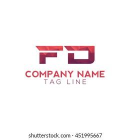 fd polygonal logo