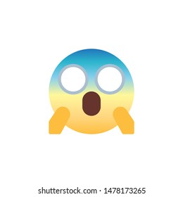 Scared Emoticon Images, Stock Photos & Vectors | Shutterstock