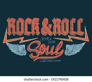 Fearless Rock and roll brand logo artwork for apparel and others