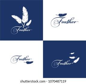 Feather Icon  Design Samples Logo Icon