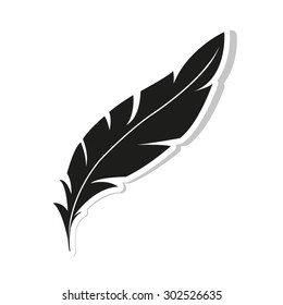Feather Icon - icon vector
