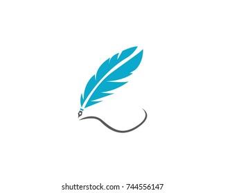 Feather pen write vectors
