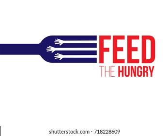 Feed the Hungry. Hunger Prevention. Charity Donation.