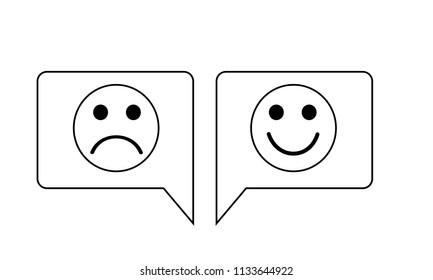 Feedback Icon Illustration Vector