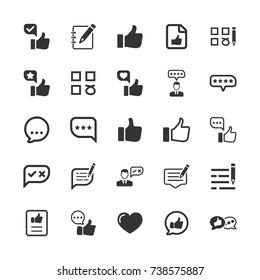 Feedback Icons