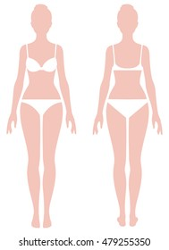 Female Body Diagram Images, Stock Photos & Vectors | Shutterstock