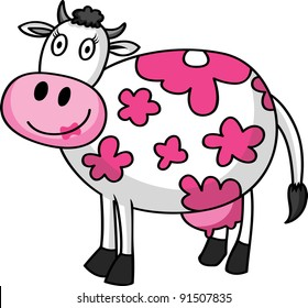 female cartoon cow