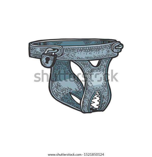Belt female chastity Who here