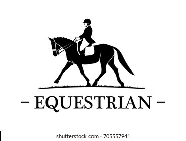 Female Equestrian Horse Riding