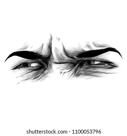 Eyes With Squint Images Stock Photos Vectors Shutterstock