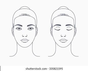 Imágenes Fotos De Stock Y Vectores Sobre Blank Face Drawing