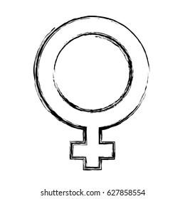 Female gender symbol