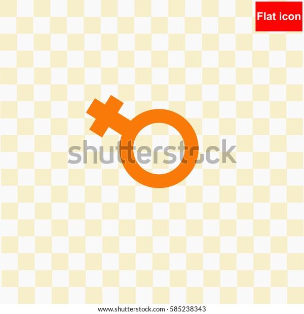 Female  icon Vector design.