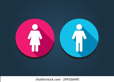 Female & Male Icons