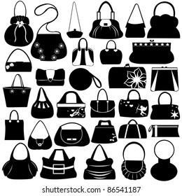 Female purse set