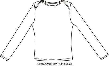 Female t-shirt (blouse)