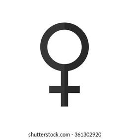 Female  - vector icon