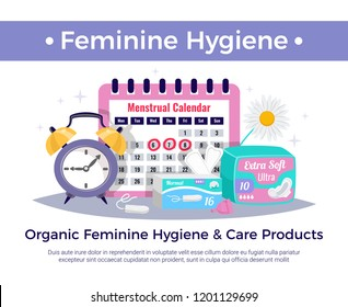 Feminine Hygiene Products Composition