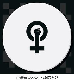 Feminism symbol.