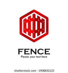 Fence design logo template illustration
